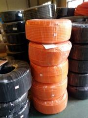 PA尼龍阻燃橙色灰色塑料波紋管線束穿線管AD28.5