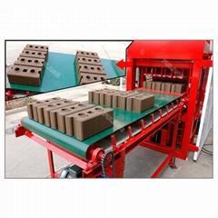 automatic interlocking clay brick block making machine