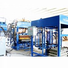 QTF4-15 automatic concrete cement hollow block brick making machine price