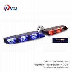 6 leds strobedash visor windshield mount warning lightbar-LTD838