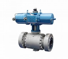 API 3PC FLANGE FORGED STEEL BALL VALVE