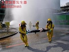 消防搜救訓練煙霧障礙發煙設備