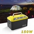 48000mAh Lithium Ion battery pack portable power station with inverter For outdo