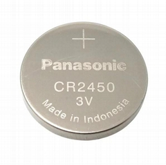 3V CR2477 Pansonic button cell battery for watch