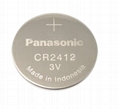 3V CR2477 Pansonic button cell battery for watch 4