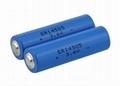 3.6V llSOCl2 ER14250 1200mAh battery 1/2AA 2