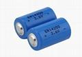 3.6V llSOCl2 ER14250 1200mAh battery 1