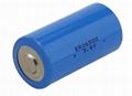 3.6V llSOCl2 ER14250 1200mAh battery 1/2AA 4