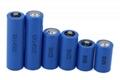 3.6V llSOCl2 ER14250 1200mAh battery 1/2AA 5