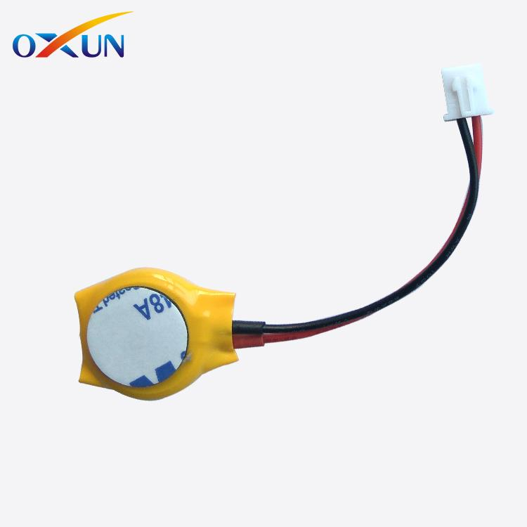Lithium battery 3v cr2032 with solder tabs pins wires connectors cr2032 battery 3