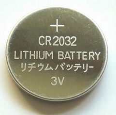 Wholesale battery 3V coin cell lithium battery cr2032