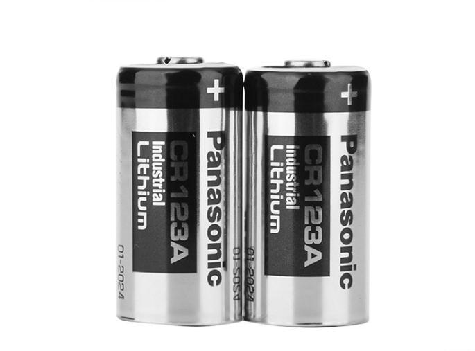 high quality smoke detector 3v lithium battery 1600mah CR123A 2