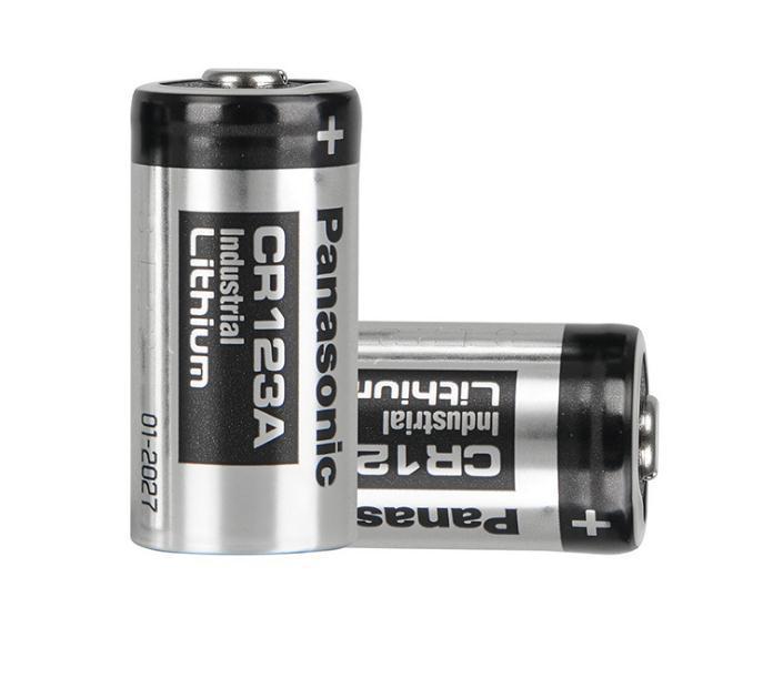 high quality smoke detector 3v lithium battery 1600mah CR123A 1