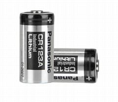 high quality smoke detector 3v lithium battery 1600mah CR123A