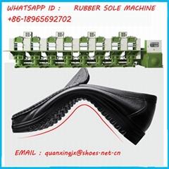 Rubber soles vulcanizing hydraulic press machine