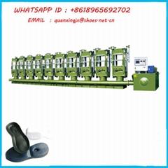 High Quality EVA Mini Frothing Shoe Sole Press Molding Making Shoes Machine