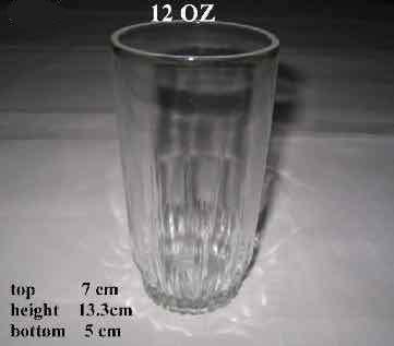 High Quality V Shape Water and Juice Drinking Glass Cup SDY-ML00896 1