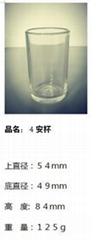 Customize Round Shape Candle Holder Bottle / Glass Candle  Cup SDY-HH0310