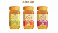 Cylinder Transparent Storage Honey Glass Jars Sdy-X02691