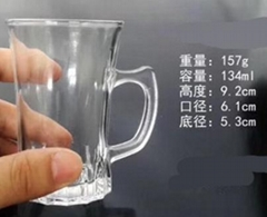 Wholesale Personalized Tableware Cheap Mini Tequila Shot Glass Cup