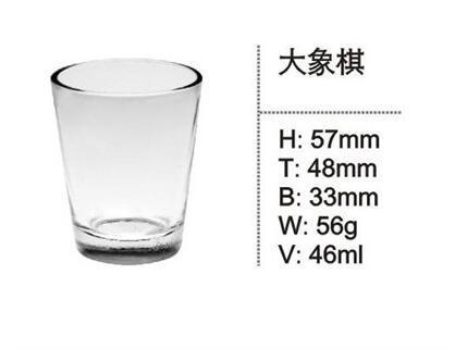 Heat Resistant Custom Glassware, Glass Cup SDY-F0003 1