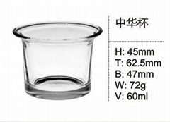 High Quality Glass Cup Water Cup Tea Cup Cofffe Cup SDY-F0016