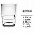 Hot Sale Transparent Glass Cup SDY-F0028