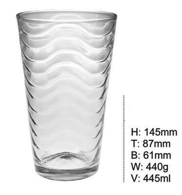 Custom Bottom Design Diamond Crystal Unique Long Drinking Glass Cups SDY-F0036 1