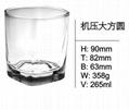 Shot Glass for Drinking Vodka glassware  SDY-F0039