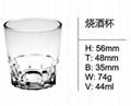 high quality Short Drinking Glass for Bar WhiskeySDY-F0050