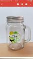 Glass Jar & bottel