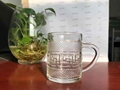 Eco-Friendly Single Wall Glass Cup with