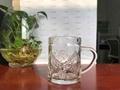 Toughened Glass Cup Non-Slip Silicone