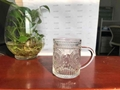 Square High Ball Glass Juice Cup