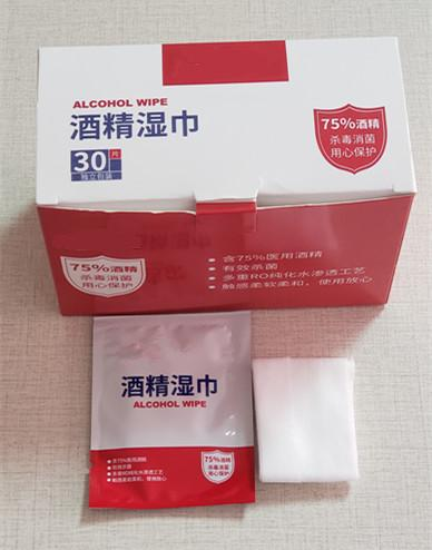 Disinfectant Anti-Virus 75% Alcohol Wet Wipes Portable Safety Wipes Sdy-012 1
