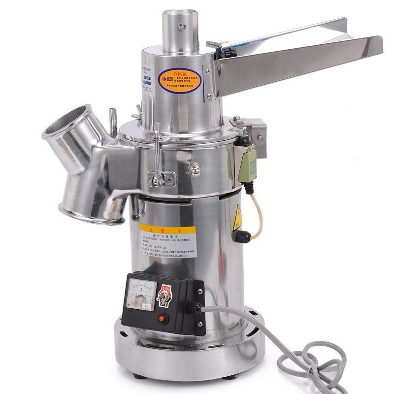 顶历流水式粉碎机连续式多功能打粉机中草药中药磨粉机DLF18包邮 3