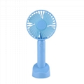Portable Table Electric Rechargeable Folding Mini USB Fan with Power Bank 2