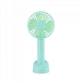 Portable Table Electric Rechargeable Folding Mini USB Fan with Power Bank 3