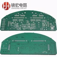 Car instrument pcb circuit board