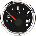 Universal 52mm Fuel Level Gauge Marine