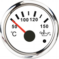 52mm Motorcycle Marine Oil Temp Gauge 12V/24V With Backlight for temp monitoring