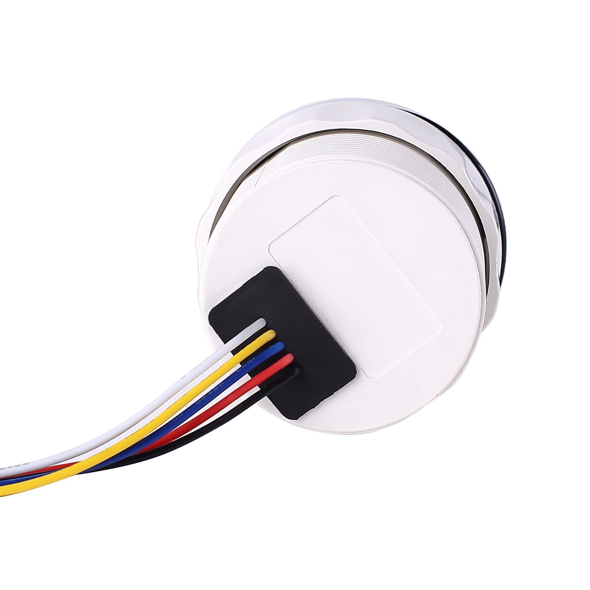 LCD Engine Hourmeter Tachometer Gauge 5