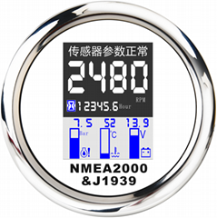 NMEA2000 Systems for Marine Boat Engine Monitoring
