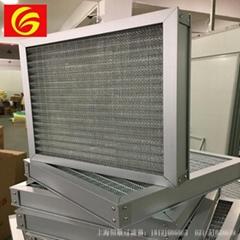 上海恆歌鋁框全金屬網過濾器