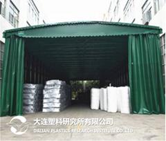 PVC Flex banner Tarpaulin Waterproof membrane production line