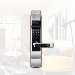 Fingerprint ID card smart locks Fingerprint password electronic door smart lock