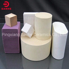 Manufacturer Cheap Honeycomb Ceramic as Catalytic Converter Catalyst Substrate