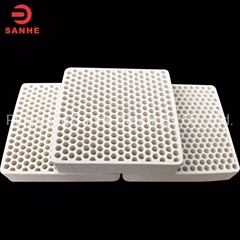 Cordierite Mullite Ceramic Honeycomb Filter for Foundry