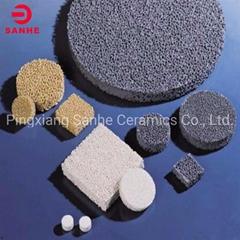 Square Shape Carbide Silicon Honeycomb Porous Foam Ceramic Filter for Casting