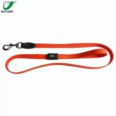 Custom Flex Poly Coated Nylon Dog Leash with Logo